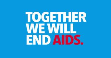 Together we will end AIDS