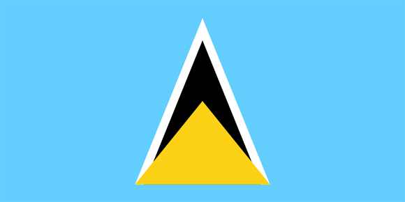 SaintLucia flag