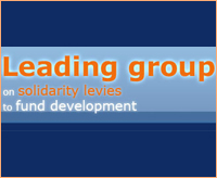 Leading Group on solidarity levies to fund development