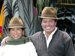 Couple in Ecuador