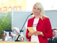 UNAIDS Goodwill Ambassador HRH Mette-Marit, Crown Princess of Norway