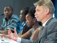 Dr Peter Ghys, Chief of Epidemiology and Analysis Division UNAIDS, presented the findings of the new analysis together with the Vienna Youth Force at the International AIDS Conference