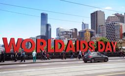 World AIDS Day 2013 around the Globe