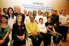 Michel Sidibé met with representatives from the Thai and Regional Civil Society in Bangkok